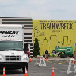 Trainwreck Premiere 2015